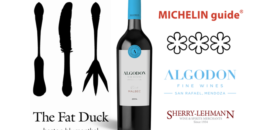 Michelin 3-Star Restaurant, The Fat Duck, Lists Algodon Wine's Malbec!
